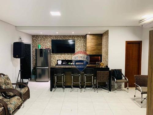 Imagem 1 de 19 de Casa Com 4 Dormitórios À Venda, 250 M² Por R$ 445.000,00 - Jardim Comodoro - Cuiabá/mt - Ca1108