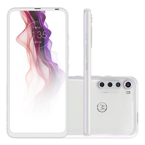 Celular Motorola Moto One Fusion Plus Branco 128gb Tela 6.5