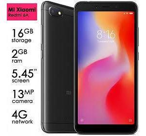 Celular Xiaomi Redmi 6a Na Caixa Com Película E Capa