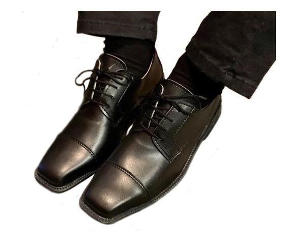 Zapatos De Vestir Punta Cuadrada Vulcano