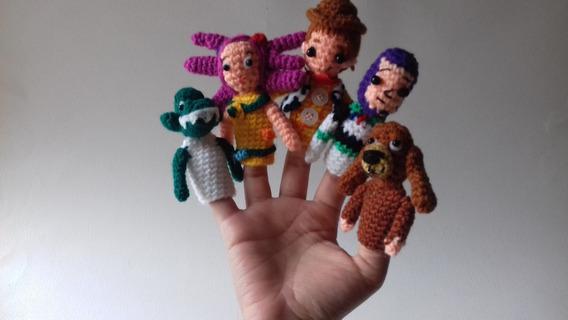 Toy Story /títeres De Dedo En Crochet / Juguetes