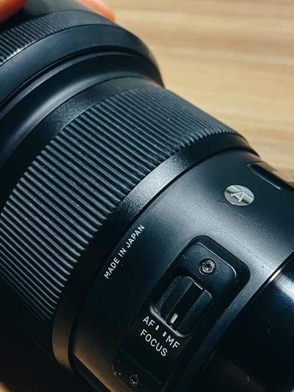 Lente 50mm Sigma Art Para Canon