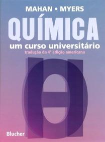 Livro: Química - Um Curso Universitário, Novo E Lacrado!!