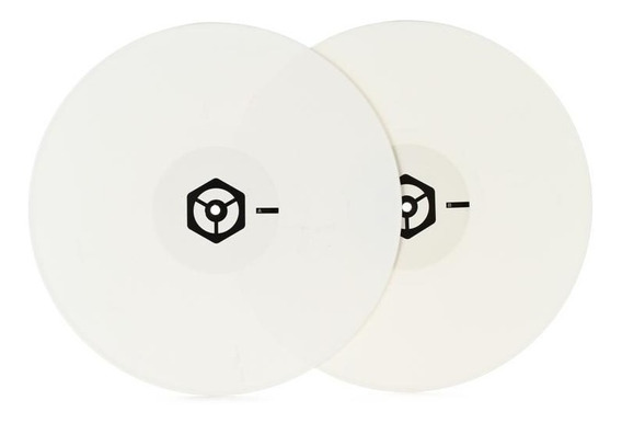 Pioneer Time Code Vinyl Rekordbox Dj White (par) Serato-trak