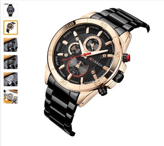 Relogio Curren 8275 Novo 2017 Top Marca De Relógios De Luxo
