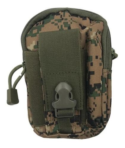 Bolso Edc Tático Modular Militar Pochete Porta Treco Objeto