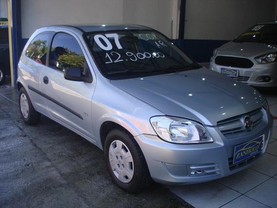 Chevrolet Celta Life 2p Prata Flex 2007 Com Ar Condicionado
