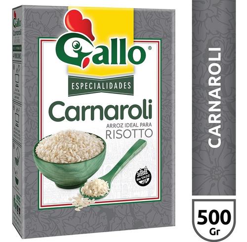Imagen 1 de 1 de Arroz Carnaroli Gallo X500 Gr