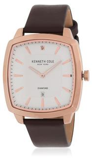 Reloj Kenneth Cole Para Hombre Kc50525005, Pulso De Cuero