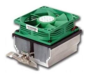 Fan / Cooler Com Base De Cobre P/ Amd 754.