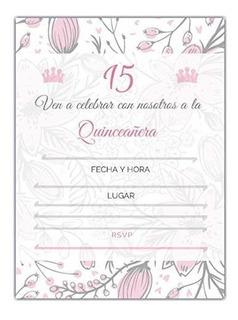 Tarjetas Invitacion Quinceaneras En Mercado Libre Colombia