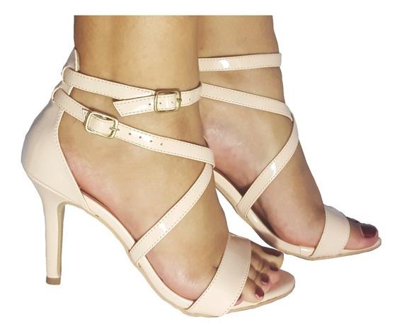 Sandalias Femininas Salto Alto Salto Fino Rosa Bebe Festas Casamento Sapatos Femininos Saltos Baratos Promocao