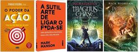 Percy Jackson O Mar De Monstros + O Poder Da Ação + 2 Livros