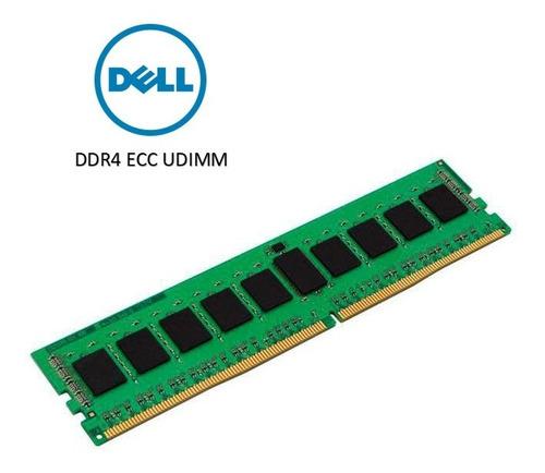 Imagem 1 de 1 de Memoria 16gb Dell Kingston Para R240 R340 T130 T340