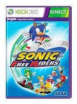 Jogo Sonic Free Riders Xbox360 Kinect Midia Fisica Original