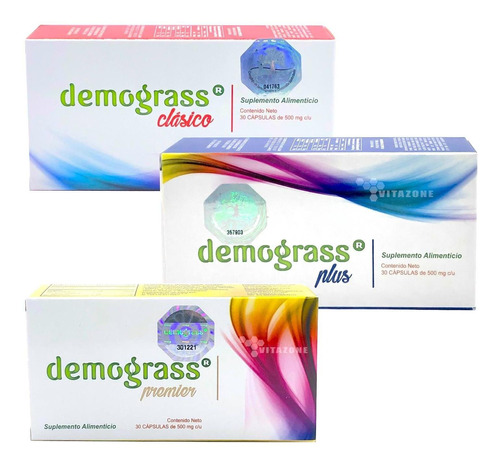 Imagen 1 de 10 de Kit Demograss Clasico + Plus + Premier Kit Completo Original