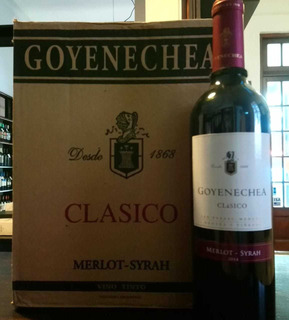 6!! Vinos Goyenechea Clásico Blend ( Merlot Syrah ) 2014