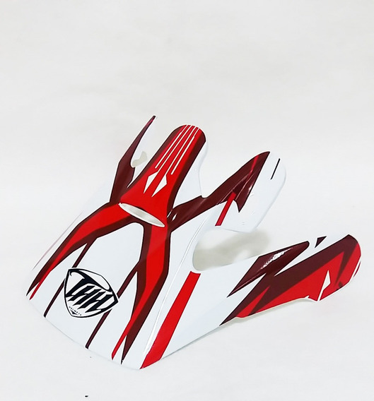 Pala Aba Visor Capacete Thh Tx10 Vermelho Motocross Trilha