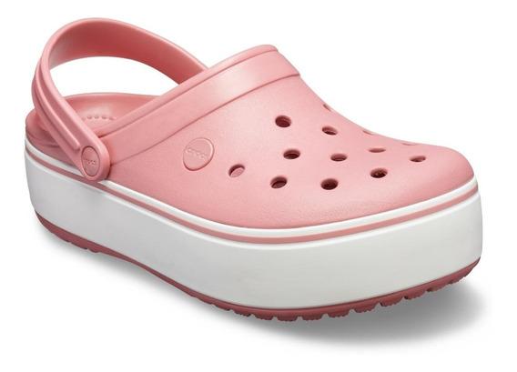 Crocs - Crocband Platform Clog - 205434-6ph