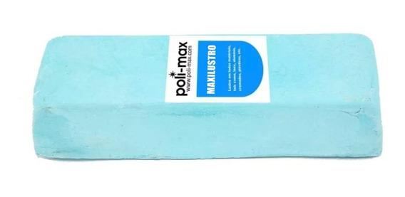 Pedra Azul 1,2 Kg Polimento Roda Tanque Motor Aluminio