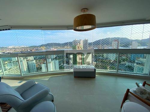 Apartamento Com 3 Dormitórios Para Alugar, 165 M² Por R$ 8.500,00/mês - Ponta Da Praia - Santos/sp - Ap7311