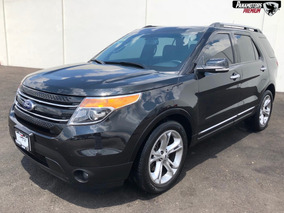 Ford Explorer Limited V6 Climatronic Piel Sync Negro 2015