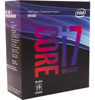 Procesador Intel Core I7 1151 8700k 3.7 Ghz