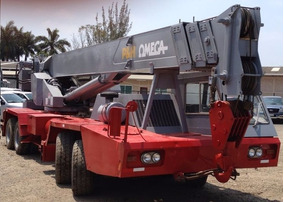 Grua Autopropulsada Mca P&h Omega Mod T-500, 50 Tons