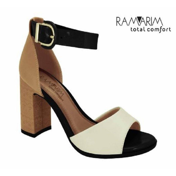 Ramarim Sandalia 1841205 New Plus Off White