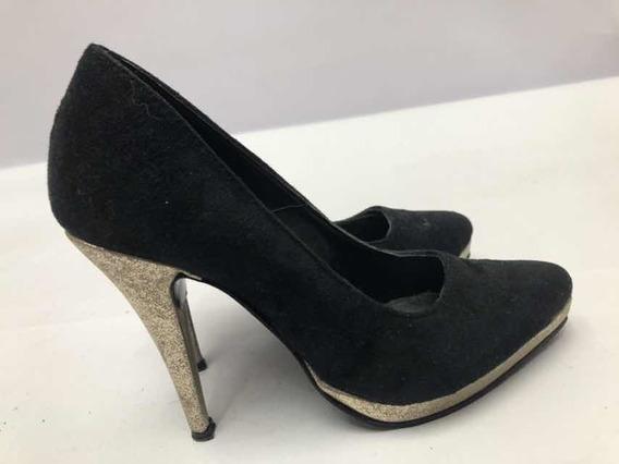 Zapatos Stilettos Nro 36 Horma Chica Con Plataforma Perf