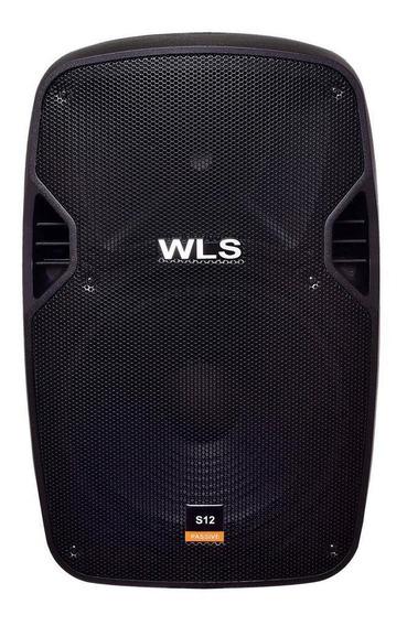 Caixa Acústica Passiva Wls S12 180 Watts 12