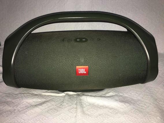 Jbl Boombox Bluetooth À Prova Dágua - Verde