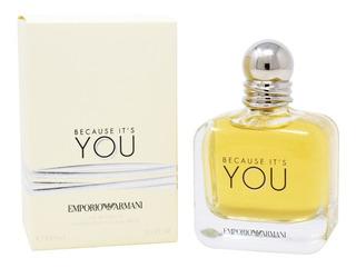 Emporio Armani Because It´s You 100 Ml Edp Spray De Giorgio