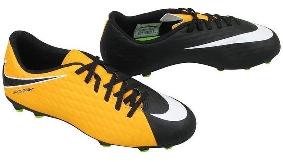 Chuteira Campo Nike Mercurial Jr Hypervenom Marceloshoes Sp
