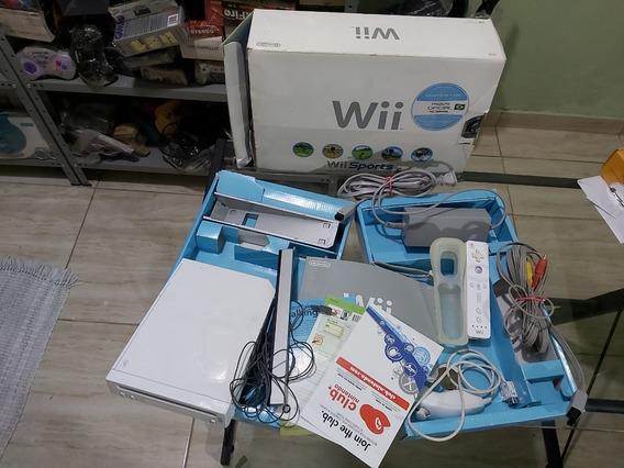 Nintendo Wii Na Caixa Bloqueado