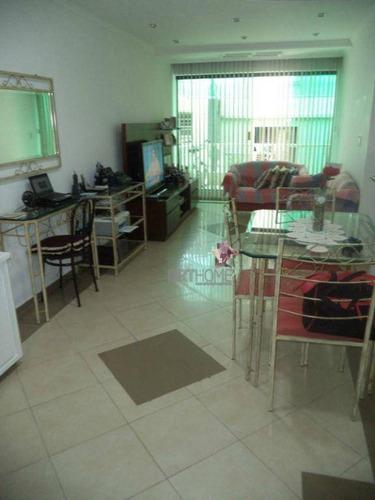 Imagem 1 de 12 de Apartamento Com 2 Dormitórios À Venda, 77 M² Por R$ 320.000,00 - Rudge Ramos - São Bernardo Do Campo/sp - Ap0105
