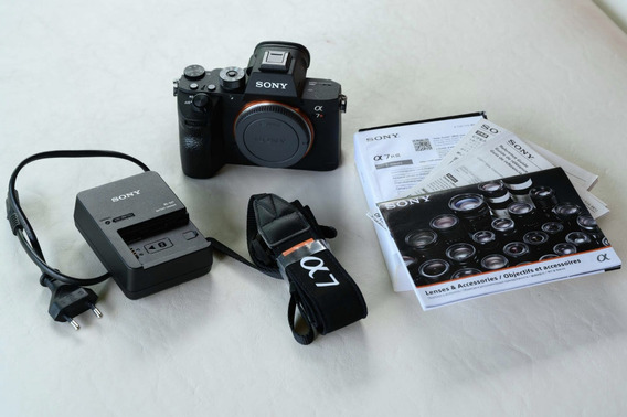 Sony Alpha A7r3, A7riii, Impecavel, 42mp Mirrorless 4k Full