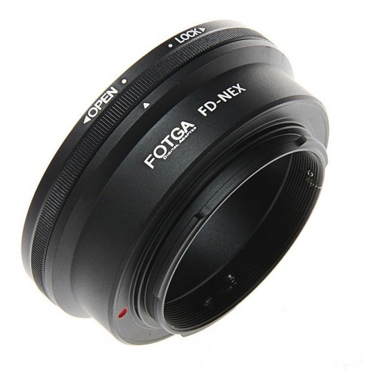 Adaptador Lente Canon Fd Nex P/ Sony A7 A7s Ii A6500 A6300