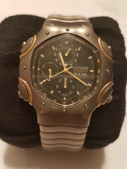 Relógio Citizen Wr100 Titanium