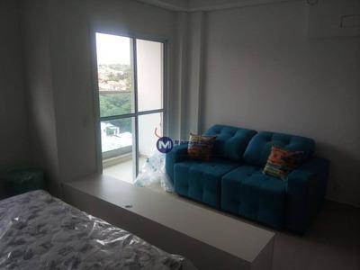 Apartamento 1 Dormitório, Mobiliado Para Alugar No Campolim, Sorocaba - Ap1141