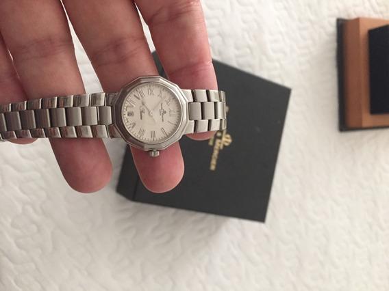 Relógio Feminino Aço Baume &mercier Riviera Quartzo