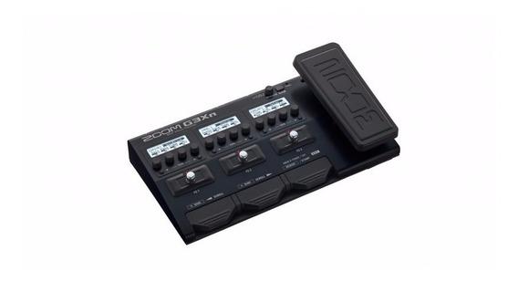 Pedaleira Zoom P/guitarra Com Modulo De Efeito G3xon