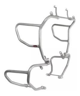 Protetor Motor E Carenagem Bmw R 1200 Gs 13/17 Sport Prata