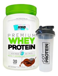 Whey Protein 2 Lb + Vaso Mezclador - Star Nutrition