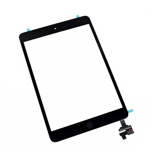 Imagen 1 de 2 de Pantalla Táctil Vidrio Touch iPad Mini Con Ic Y Home Negro