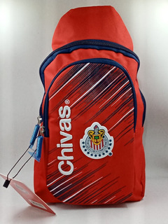 Mochila Pechera De Equipo Chivas Del Guadalajara Original