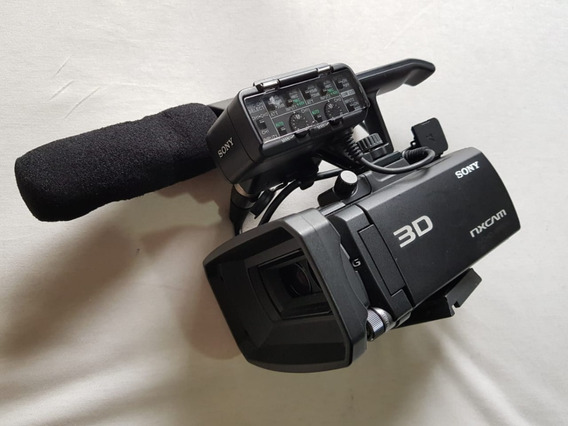Filmadora 3d Sony Nxcam. Super Conservada! Pouco Usada.