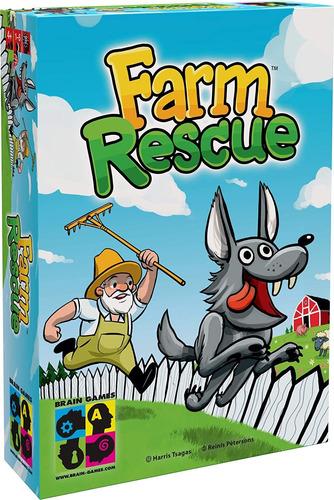Juego De Mesa Para Niños De Brain Games Farm Rescue   Juego
