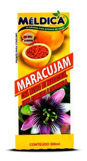 Passiflora Maracujá Camomila Erva Cidreira 500ml Méldica