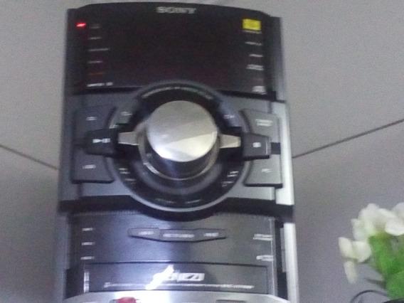 Micro System Sony Genezi C/ 6 Caixas - Usado - Aceito Oferta